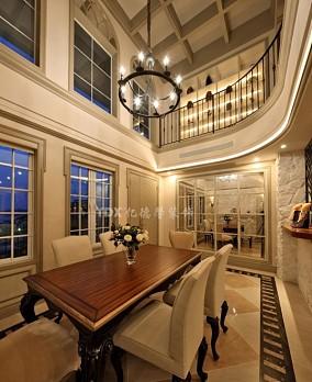 热门137平米欧式复式客厅装修设计效果图片大全
