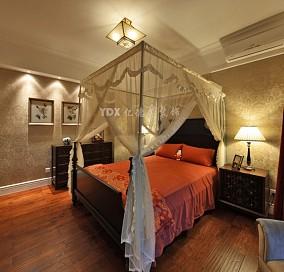 精美美式小户型卧室装修设计效果图片大全