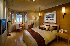 小户型卧室现代实景图片欣赏