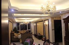 2018精选面积74平小户型客厅新古典装修设计效果图片大全