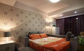 现代风格卧室榻榻米床效果图欣赏