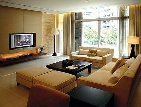面积120平复式客厅简约欣赏图