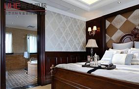 精美86平米欧式小户型卧室装饰图片