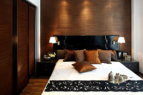 复式卧室中式装修设计效果图片欣赏