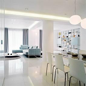 2018精选面积132平别墅客厅简约装修欣赏图
