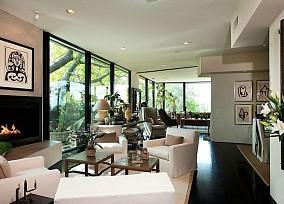 精美别墅客厅简约实景图片欣赏