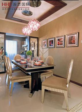 新古典公寓餐厅装修设计效果图片