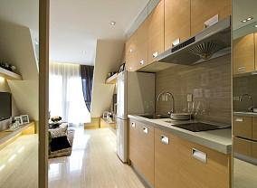 热门86平米现代小户型厨房效果图片大全
