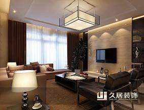 热门88平米现代小户型客厅装修设计效果图
