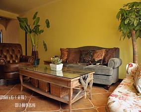 东南亚风格客厅茶几图片