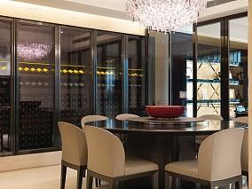 精选105平米三居餐厅现代装修效果图片欣赏