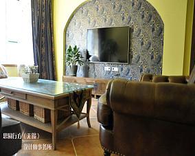 热门面积83平小户型客厅东南亚装饰图片大全