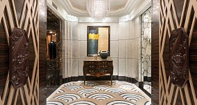 热门88平米欧式小户型玄关装修设计效果图片大全