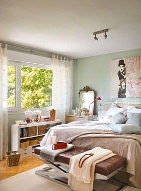 201882平米二居卧室欧式实景图片欣赏