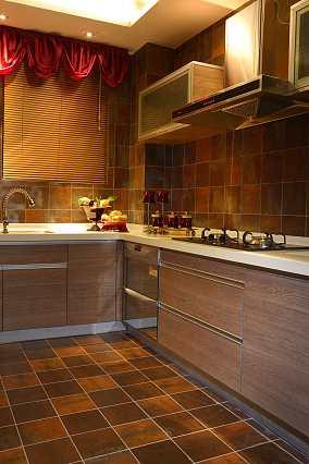 精美面积78平小户型厨房东南亚效果图片大全
