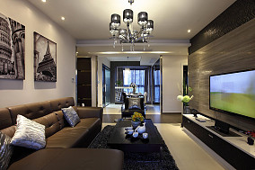 精选小户型客厅现代实景图片欣赏