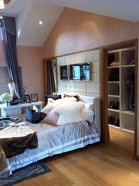 热门126平米新古典别墅卧室效果图片欣赏
