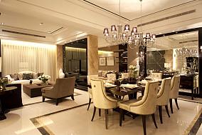 75平米二居餐厅现代装修图片大全
