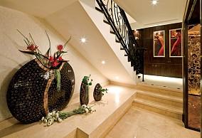 热门140平米欧式别墅休闲区实景图片
