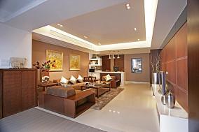 热门二居客厅中式装饰图片