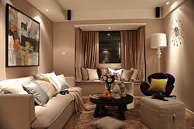 精选72平米现代小户型客厅装修设计效果图