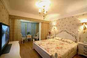 田园二居卧室装修设计效果图片欣赏