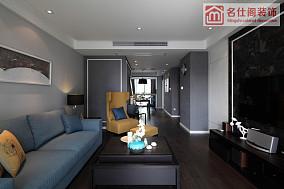 2018精选大小99平现代三居客厅效果图片大全