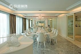 简约欧式别墅餐厅装修效果图