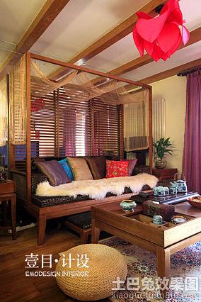 东南亚风格小户型装修效果图欣赏