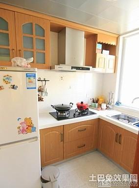 田园风格居室厨房装修效果图