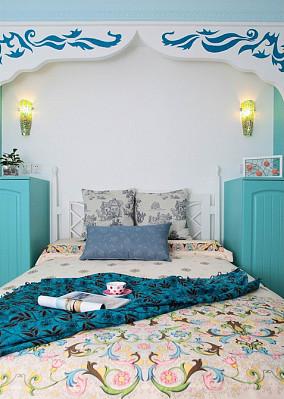 清新地中海风格卧室装修效果图
