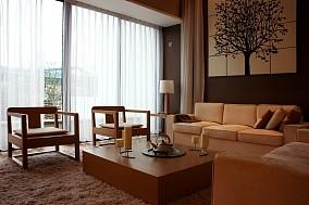 精美面积86平小户型客厅中式装修欣赏图片大全