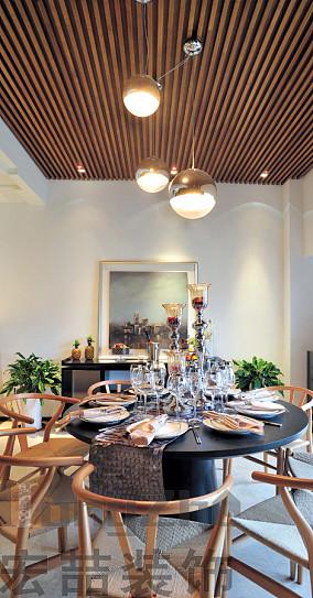 2018大小84平现代二居餐厅装修实景图片欣赏