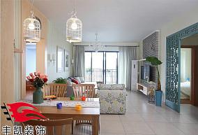 精选中式小户型休闲区装修效果图片欣赏