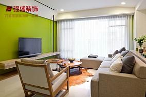 201882平米简约小户型客厅装修设计效果图片大全
