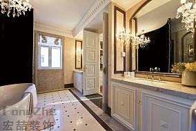 欧式别墅卫生间装修效果图片