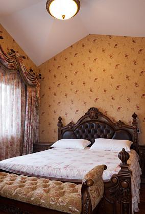 二居卧室美式欣赏图