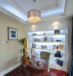 欧式风格小书房设计效果图