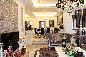 精选面积111平别墅休闲区新古典装修设计效果图片欣赏