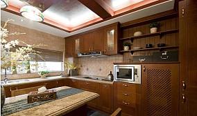 简约东南亚风格厨房装修效果图
