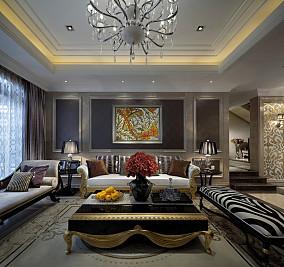 精美别墅休闲区新古典装修设计效果图片欣赏