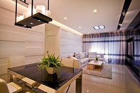 热门面积77平小户型休闲区现代装饰图片