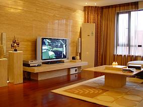简单客厅电视背景墙效果图大全