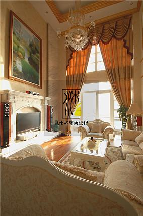 精选123平米欧式别墅休闲区装修设计效果图片欣赏