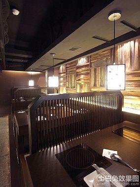 日本火锅店设计效果图