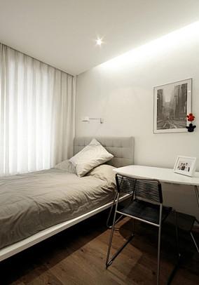 极简主义次卧室装修效果图