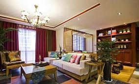 精选90平米中式小户型客厅效果图片大全
