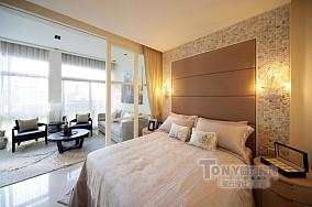 简约风格一居室卧室装修效果图