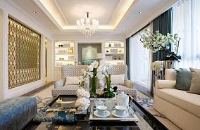 精选82平米二居客厅新古典装饰图片