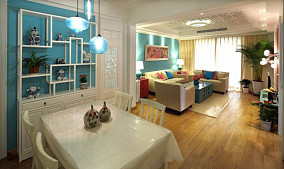 精选面积88平小户型休闲区现代装修设计效果图片大全